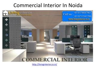 Commercial interior in noida