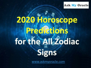 2020 Horoscope Predictions For the 12 Zodiac Signs | Yearly 2020 Astrology
