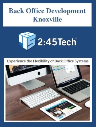 Back Office Development Knoxville