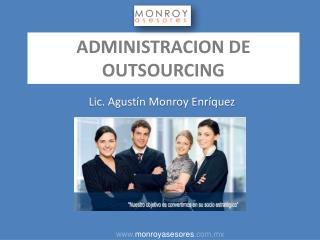 ADMINISTRACION DE OUTSOURCING