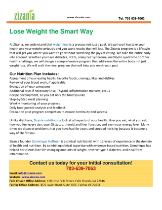 Weight Loss Programs in Northern Virginia