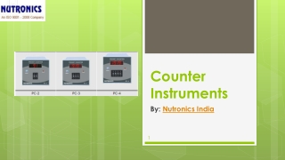 Counter Instrument