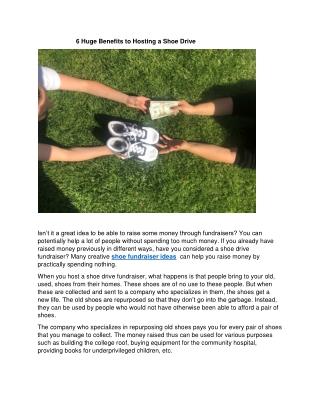 Angel Bins Shoe Fundraiser | Shoe Recycling Fundraiser | Shoe Drive