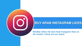 Buy Arab Instagram Likes 100% Real
