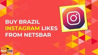 Buy Brazil Instagram Likes 100% Active & Real