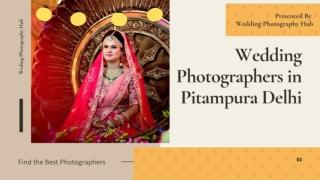 Top 10 Wedding Photographers in Pitampura Delhi