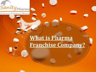 What is Pharma Franchise Company?