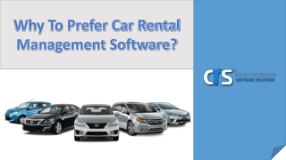 Know The Benefits Of Car Rental Management Software
