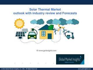 Solar Thermal Market Update, Analysis, Forecast, 2019-2025