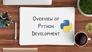 Overview of Python Development