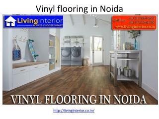 Vinyl flooring in Noida