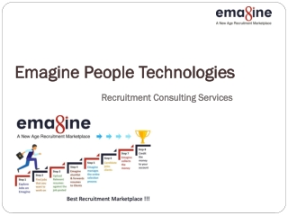 Recruitment Consulting Services- Emagine People Technologies