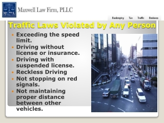 Charlotte Traffic Attorney Services