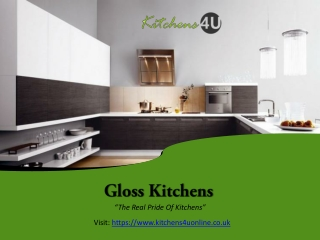 Gloss Kitchen Doors - Kitchens4UOnline.