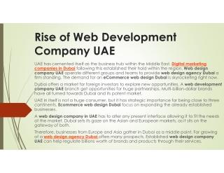 Web Design Company Dubai | Web Development | Ecommerce Web Design | Pro Web – Unisys