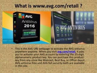www.avg.com/retail | avg.com/retail