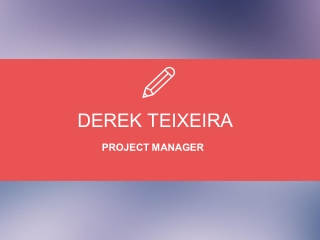 Derek Teixeira - Available to Speak on Entrepreneurship