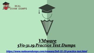 Latest 5V0-31.19 Practice Test Questions - 5V0-31.19 Study Guide - Realexamdumps.com