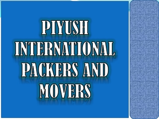 Packers & Movers in Ludhiana