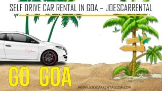 Self Drive Car Rental in Goa - Joescarrental