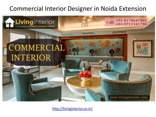 Commercial Interior Designer in Noida Extension