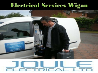 Electrical services wigan