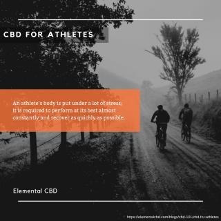 CBD For Athletes | Elemental CBD
