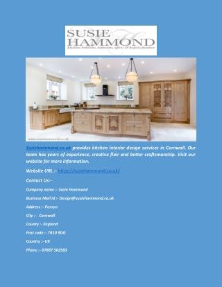 Kitchen Interior Design(susiehammond.co.uk)
