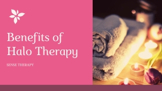 Benefits of Halo Therapy