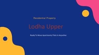 Lodha Upper Thane