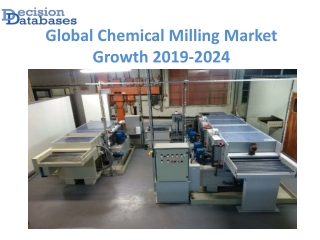 Global Chemical Milling Market Growth Projection to 2024