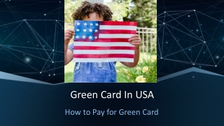 US Green Card Payment
