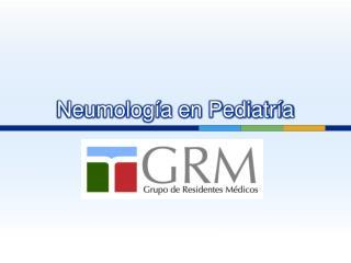 Neumología en Pediatría