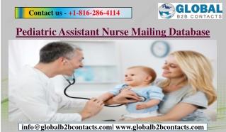 Pediatric Assistant Nurse Mailing Database