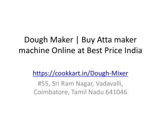 Dough Maker | Buy Atta maker machine Online at Best Price India