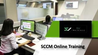 SCCM Online Training, Microsoft Online SCCM Training - SV Trainings