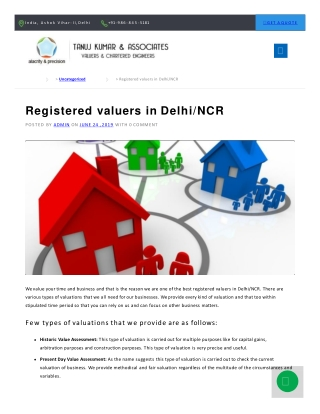 Property valuer in NCR