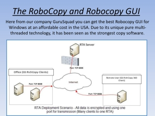 Best Robocopy GUI for Windows - GuruSquad