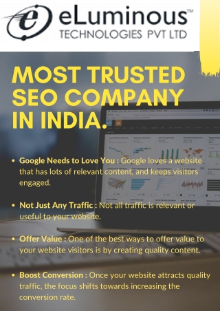 Most Trusted SEO Company In India | SEO Services India