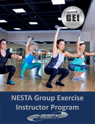 Group Exercise Instructor Certification Manual