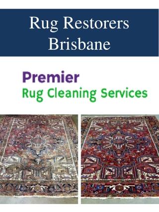 Rug Restorers Brisbane