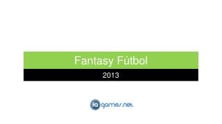 FaGames - Fantasy Fútbol 2013