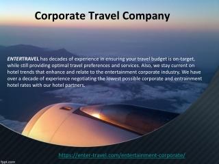 Corporate Travel Company