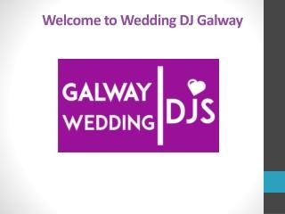 Galway Wedding DJ   Wedding DJ Galway