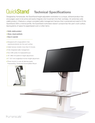 ergonomic stands   ergonomic quickstand eco   humanscale