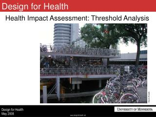 Health Impact Assessment: Threshold Analysis