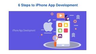 6 Steps to iPhone App Development
