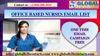 OFFICE BASED NURSES EMAIL LIST