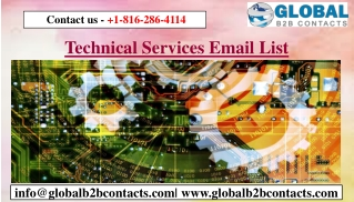 Technical Services Email List