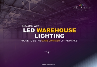 LED Warehouse Lighting fixtures: LEDMyplace